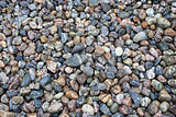 Colourful Pebbles on Balestrand Beach, Norway, Sacndinavia