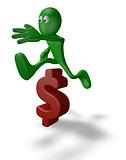 jump over dollar