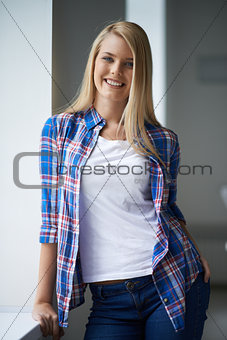 Casual girl