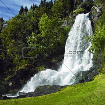 Skeie Waterfall, Norway