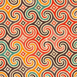 Retro pattern with swirls.