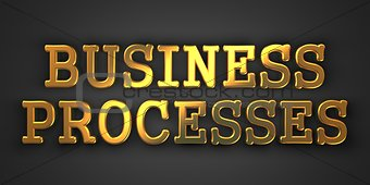 Business Processes Concept.