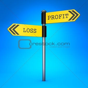 Profit or Loss. Concept of Choice.