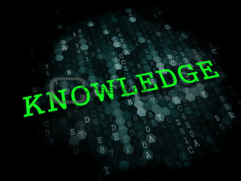 Knowledge. Education Concept.