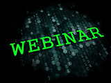 Webinar. Business Educational Concept.