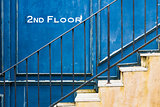 Vintage stair