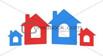 Four house icon