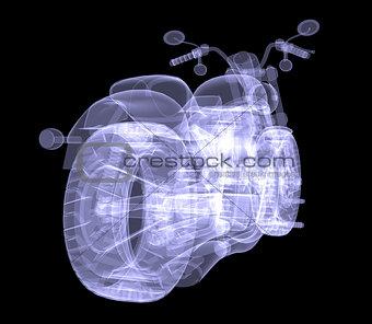 Chopper. The X-ray render