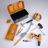 Toolbox and tools