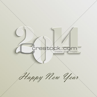 Abstract New Years wishes