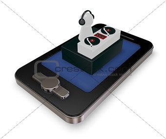 smartphone dj