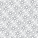 Vector monochrome background of repeated elements