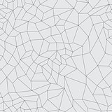 Vector mosaic black grid on a gray background