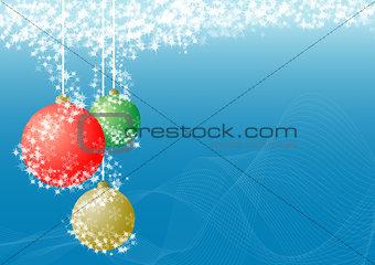 Christmas ball decorative