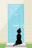 Door dog