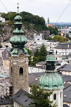 City of Salzburg in Germany, Europe