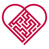 labyrinth heart