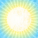 Grunge Sun Background