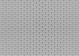 Gray Brick Wall. Seamless Tileable Texture.
