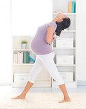 Prenatal yoga.