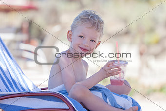 boy at summer