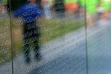 Reflection at Vietnam Wall