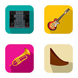 Music and party icons 4