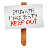 Private property, keep out