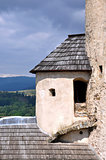 Corner tower of Niedzica Castle, Poland