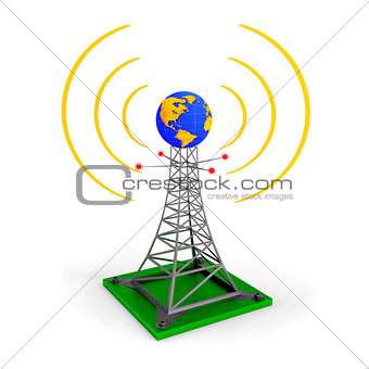 Abstract wireless tower