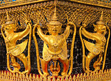 The Garuda at the Emerald Buddha Temple, Bangkok, Thailand