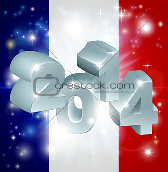 2014 french flag
