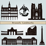 Brussels landmarks and monuments
