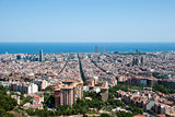 View over Barcelona, Spain