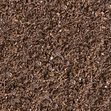 Seamless Texture of Brown Soil.