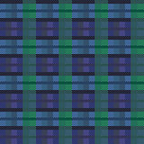 Seamless checkered vector dark pattern
