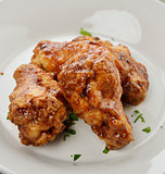 Chicken Wings With Barbecue Sauce