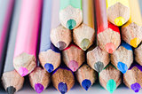 Color pencils crayon