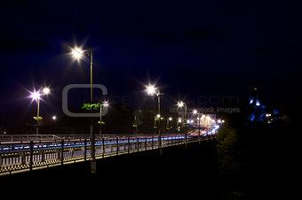 Bridge Over Smotrych River