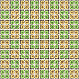 Vector seamless tiled pattern. Wallpaper background
