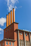 Building with 4 chimneys