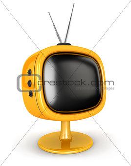 3d retro television