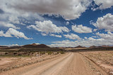 Argentina dirt road