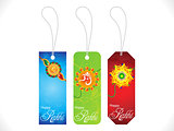 multiple rakshabandhan sale tags background