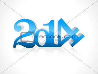 abstract new year concept