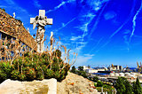 Montjuic Cemetery in Barcelona, Spain