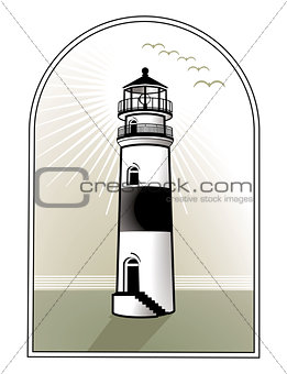light house logo