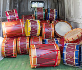 Lot of drums