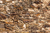 Decorative stone wall