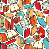 Seamless book pattern / Background wallpaper